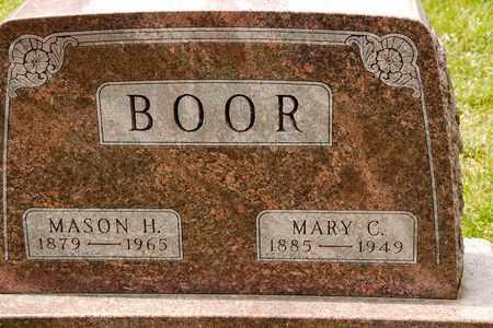 BOOR, MASON H - Richland County, Ohio | MASON H BOOR - Ohio Gravestone Photos