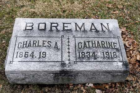 BOREMAN, CATHARINE - Richland County, Ohio | CATHARINE BOREMAN - Ohio Gravestone Photos