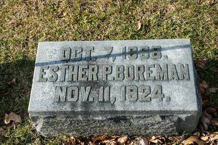 BOREMAN, ESTHER P - Richland County, Ohio | ESTHER P BOREMAN - Ohio Gravestone Photos