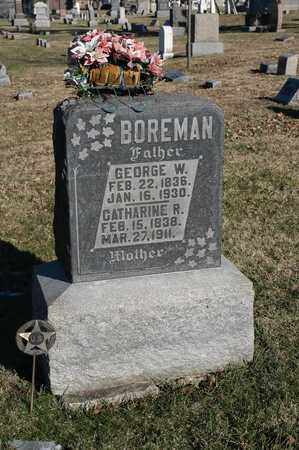 BOREMAN, GEORGE W - Richland County, Ohio | GEORGE W BOREMAN - Ohio Gravestone Photos