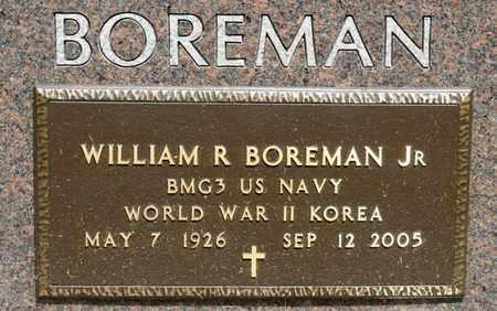 BOREMAN JR, WILLIAM R - Richland County, Ohio   WILLIAM R BOREMAN JR - Ohio Gravestone Photos