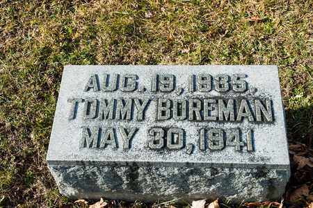 BOREMAN, TOMMY - Richland County, Ohio | TOMMY BOREMAN - Ohio Gravestone Photos