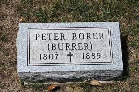 BORER, PETER - Richland County, Ohio | PETER BORER - Ohio Gravestone Photos