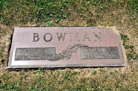 BOWMAN, LILLIAN RAY - Richland County, Ohio | LILLIAN RAY BOWMAN - Ohio Gravestone Photos