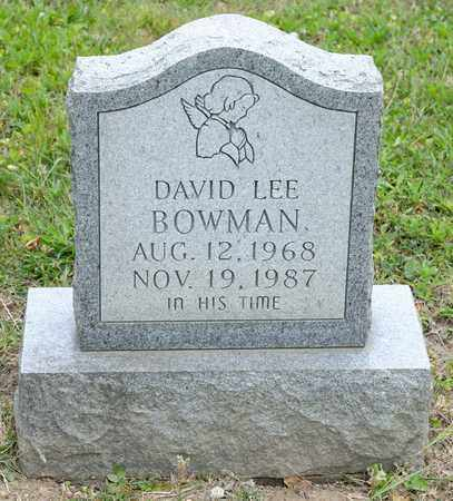 BOWMAN, DAVID LEE - Richland County, Ohio | DAVID LEE BOWMAN - Ohio Gravestone Photos
