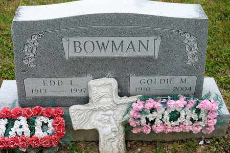 BOWMAN, GOLDIE M - Richland County, Ohio | GOLDIE M BOWMAN - Ohio Gravestone Photos