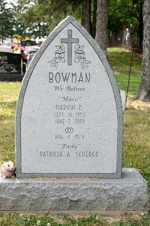 BOWMAN, MARVIN D - Richland County, Ohio | MARVIN D BOWMAN - Ohio Gravestone Photos