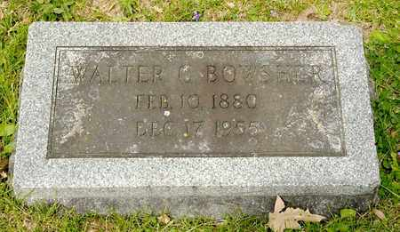 BOWSHER, WALTER C - Richland County, Ohio | WALTER C BOWSHER - Ohio Gravestone Photos