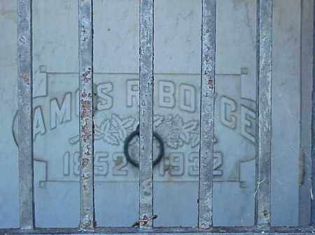 BOYCE, AMOS - Richland County, Ohio | AMOS BOYCE - Ohio Gravestone Photos