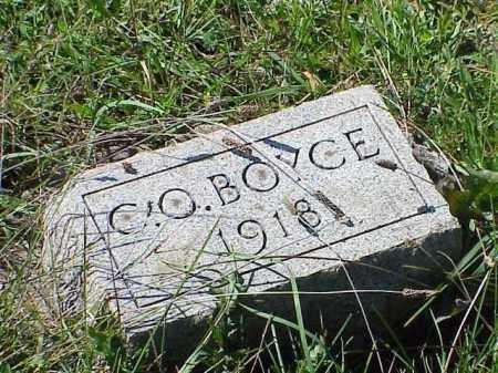BOYCE, CLARK OMAR - Richland County, Ohio | CLARK OMAR BOYCE - Ohio Gravestone Photos