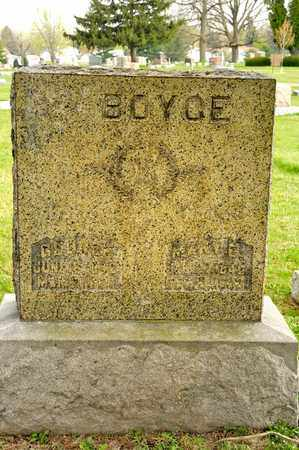 BOYCE, GEORGE - Richland County, Ohio | GEORGE BOYCE - Ohio Gravestone Photos