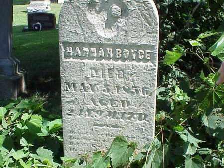 BOYCE, HANNAH - Richland County, Ohio | HANNAH BOYCE - Ohio Gravestone Photos