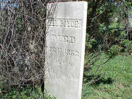 BOYCE, JOHN - Richland County, Ohio | JOHN BOYCE - Ohio Gravestone Photos