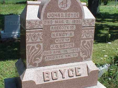 BOYCE, NANCY A. - Richland County, Ohio | NANCY A. BOYCE - Ohio Gravestone Photos