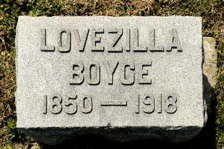 BOYCE, LOVEZILLA - Richland County, Ohio | LOVEZILLA BOYCE - Ohio Gravestone Photos