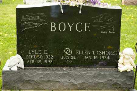BOYCE, LYLE D - Richland County, Ohio | LYLE D BOYCE - Ohio Gravestone Photos