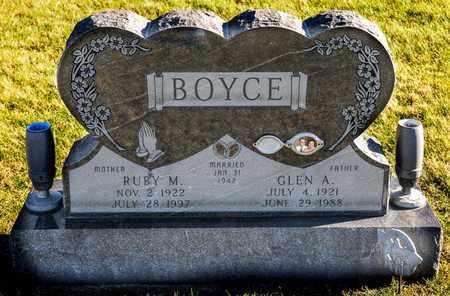 BOYCE, RUBY M - Richland County, Ohio | RUBY M BOYCE - Ohio Gravestone Photos