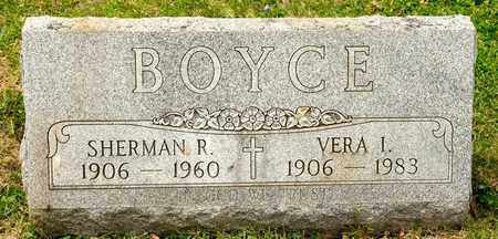 BOYCE, SHERMAN R - Richland County, Ohio | SHERMAN R BOYCE - Ohio Gravestone Photos