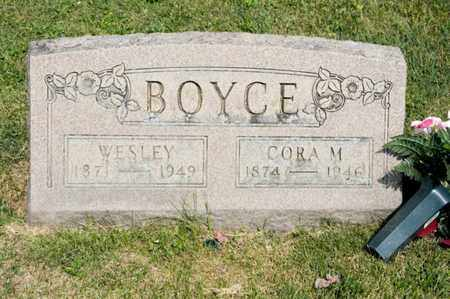 BOYCE, WESLEY - Richland County, Ohio | WESLEY BOYCE - Ohio Gravestone Photos