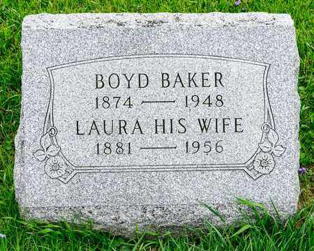 BOYD, LAURA - Richland County, Ohio | LAURA BOYD - Ohio Gravestone Photos