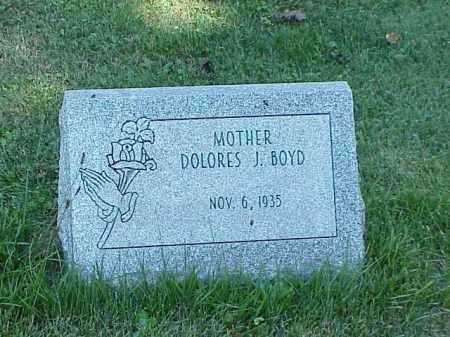 BOYD, DOLORES J. - Richland County, Ohio | DOLORES J. BOYD - Ohio Gravestone Photos