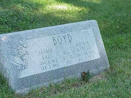 BOYD, EARL - Richland County, Ohio | EARL BOYD - Ohio Gravestone Photos