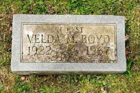 BOYD, VELDA M - Richland County, Ohio | VELDA M BOYD - Ohio Gravestone Photos