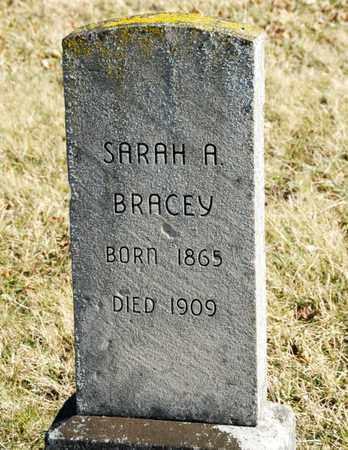 BRACEY, SARAH A - Richland County, Ohio | SARAH A BRACEY - Ohio Gravestone Photos