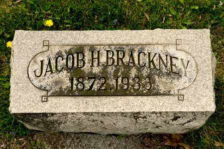 BRACKNEY, JACOB H - Richland County, Ohio | JACOB H BRACKNEY - Ohio Gravestone Photos