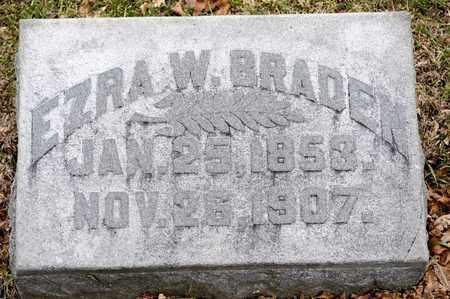 BRADEN, EZRA W - Richland County, Ohio | EZRA W BRADEN - Ohio Gravestone Photos