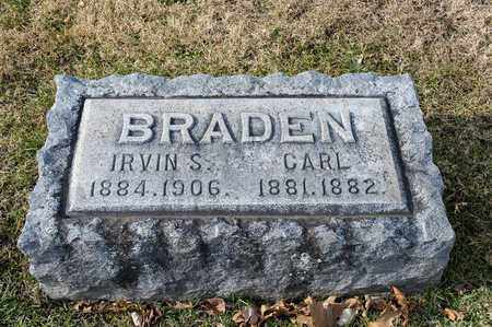BRADEN, CARL - Richland County, Ohio | CARL BRADEN - Ohio Gravestone Photos