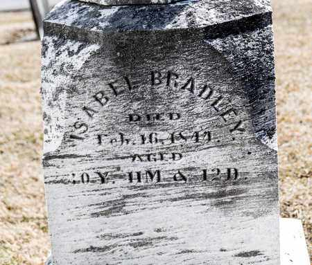 BRADLEY, ISABEL - Richland County, Ohio | ISABEL BRADLEY - Ohio Gravestone Photos