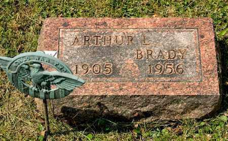 BRADY, ARTHUR L - Richland County, Ohio | ARTHUR L BRADY - Ohio Gravestone Photos