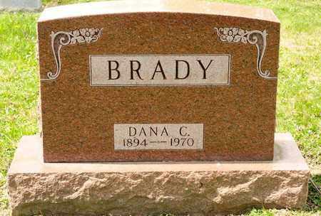 BRADY, DANA C - Richland County, Ohio | DANA C BRADY - Ohio Gravestone Photos