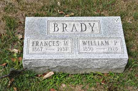 BRADY, WILLIAM P - Richland County, Ohio | WILLIAM P BRADY - Ohio Gravestone Photos