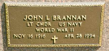 BRANNAN, JOHN L - Richland County, Ohio | JOHN L BRANNAN - Ohio Gravestone Photos