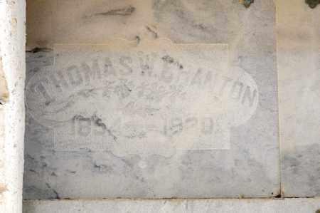 BRANTON, THOMAS W - Richland County, Ohio | THOMAS W BRANTON - Ohio Gravestone Photos