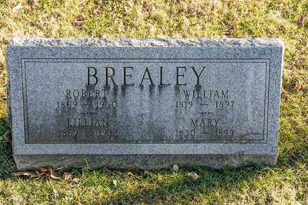 BREALEY, WILLIAM - Richland County, Ohio | WILLIAM BREALEY - Ohio Gravestone Photos