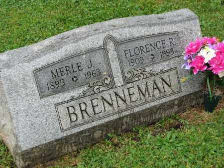 BRENNEMAN, FLORENCE R. - Richland County, Ohio | FLORENCE R. BRENNEMAN - Ohio Gravestone Photos