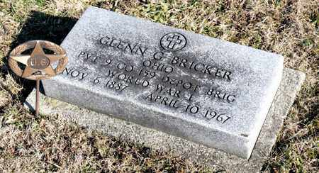 BRICKER, GLENN G - Richland County, Ohio | GLENN G BRICKER - Ohio Gravestone Photos