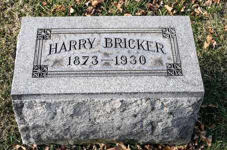 BRICKER, HARRY - Richland County, Ohio | HARRY BRICKER - Ohio Gravestone Photos
