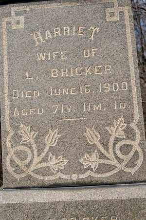 BRICKER, HARRIET - Richland County, Ohio | HARRIET BRICKER - Ohio Gravestone Photos