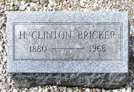 BRICKER, H CLINTON - Richland County, Ohio | H CLINTON BRICKER - Ohio Gravestone Photos