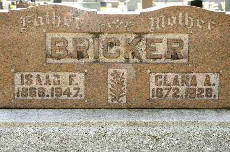 BRICKER, CLARA A - Richland County, Ohio | CLARA A BRICKER - Ohio Gravestone Photos