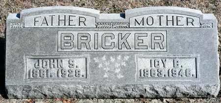 BRICKER, ICY B - Richland County, Ohio | ICY B BRICKER - Ohio Gravestone Photos