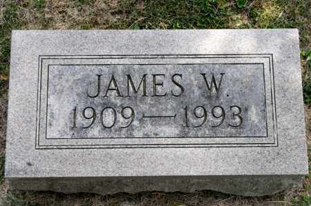BRICKER, JAMES W - Richland County, Ohio | JAMES W BRICKER - Ohio Gravestone Photos