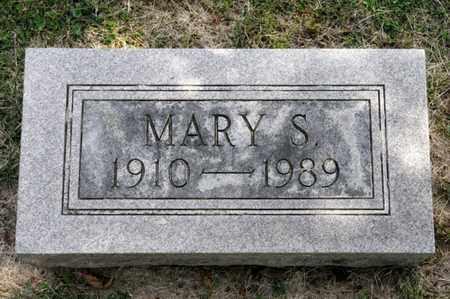 BRICKER, MARY S - Richland County, Ohio | MARY S BRICKER - Ohio Gravestone Photos