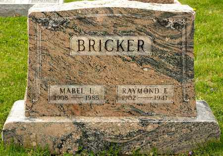 BRICKER, RAYMOND E - Richland County, Ohio | RAYMOND E BRICKER - Ohio Gravestone Photos