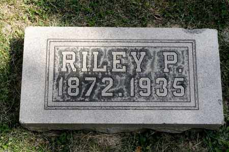 BRICKER, RILEY P - Richland County, Ohio | RILEY P BRICKER - Ohio Gravestone Photos