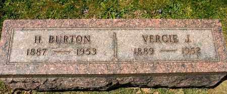 BRICKLEY, H BURTON - Richland County, Ohio | H BURTON BRICKLEY - Ohio Gravestone Photos